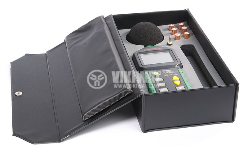 Digital sound level meter MS6702 with temperature and humidity - 6