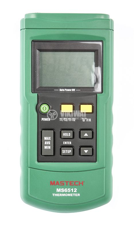Digital handheld thermometer MS6512 for thermocouple type K, J, T, E - 2