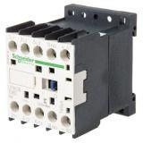 Contactor, four-pole, coil 24VDC, 3PST - 3NO, 6A, LP1K0610BD