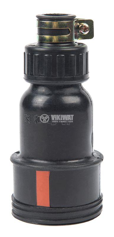 Military connector, 3P+N, 440VAC, 15A, rubber, female - 2