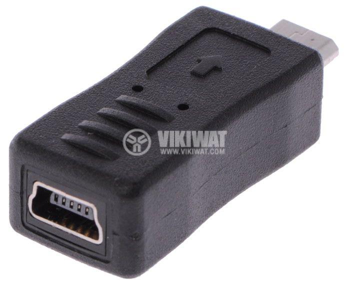 Adapter, mini USB F - micro USB M - 2