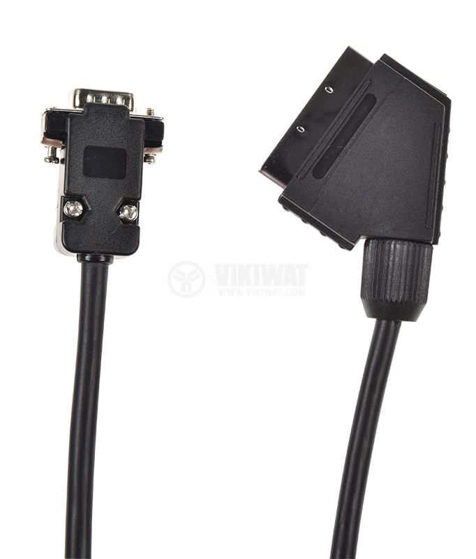 Cable Scart 21pin/m - D-SUB 15pin/m, 5m