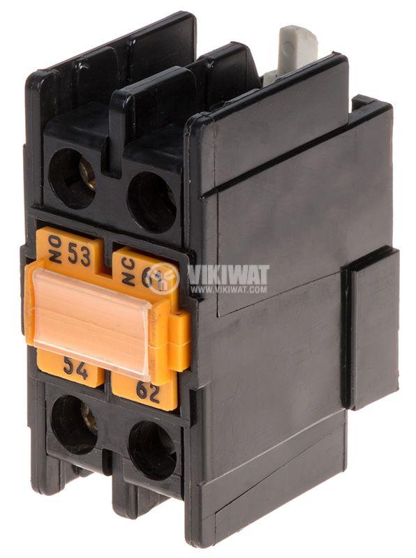 Помощни контакти, LA1-D11 A 65, 2PST-NO+NC, 6A, 500VDC
