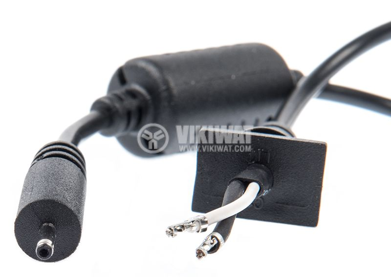 Power cable with laptop plug, 2x1mm, 1m - 3