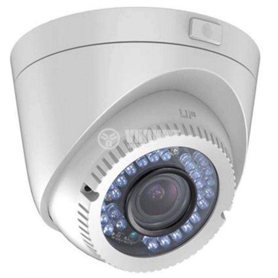 HD-TVI куполна видеокамера, FullHD 1080P, IP66, 2MP, 1920x1080px, HIKVISION - 1