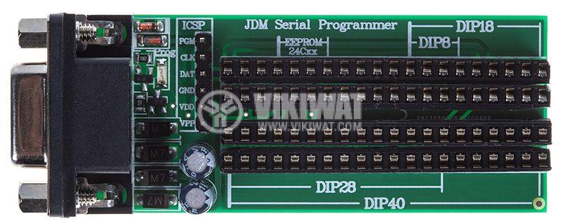 PIC програматор през сериен порт - JDM Serial Programmer - 1
