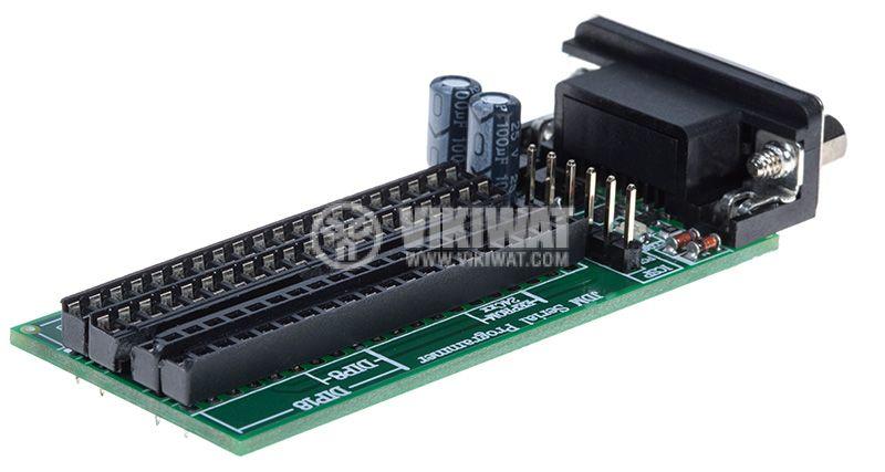PIC програматор през сериен порт - JDM Serial Programmer - 2