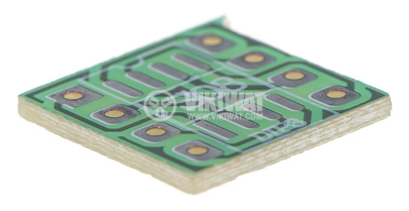 Circuit board from SO8 to DIP8 11x11mm - 1