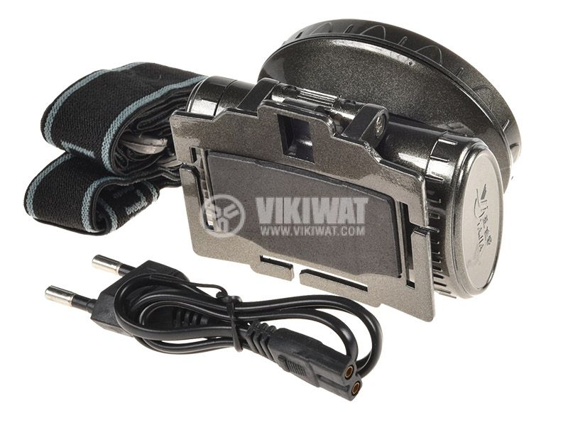LED headlamp, rechargeable, YJ-1898, 13LEDs, 100lm - 2