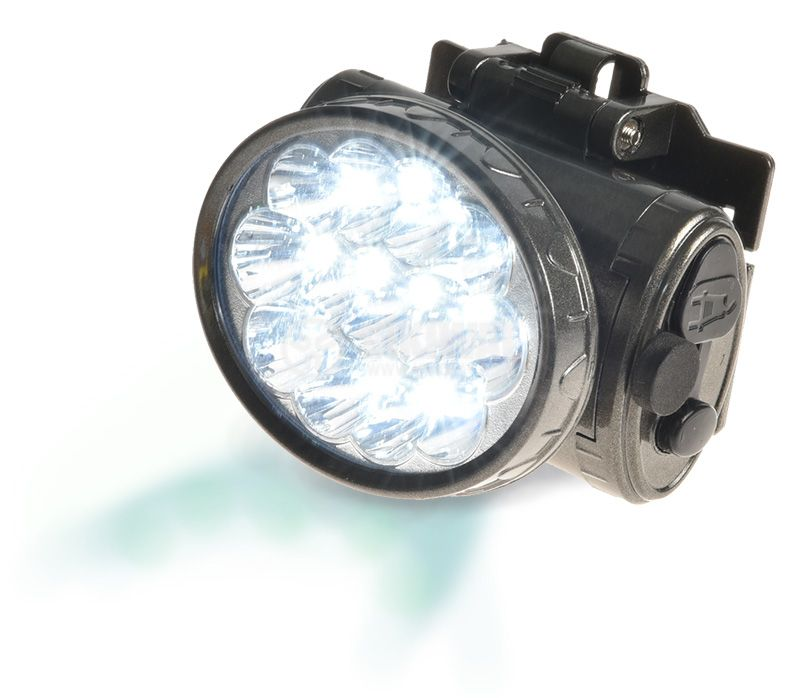 LED headlamp, rechargeable, YJ-1898, 13LEDs, 100lm - 3
