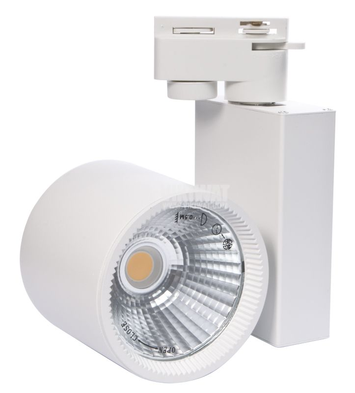 LED COB Tracklight 30W, 3000K, warm white - 2