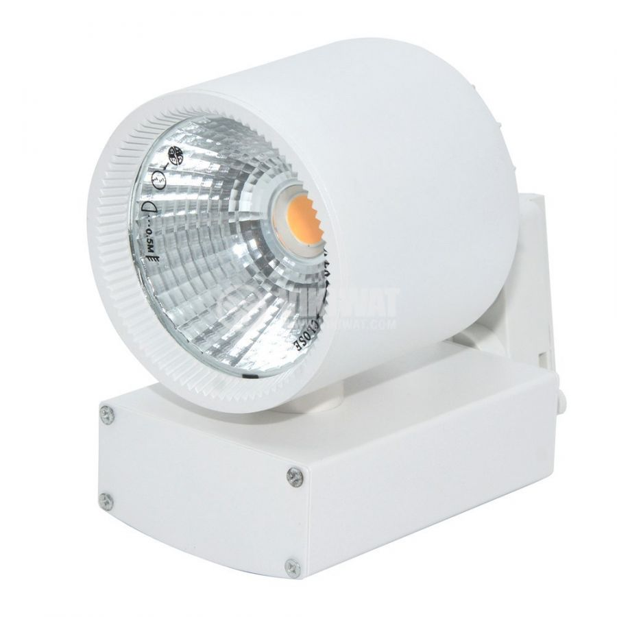 LED  tracklight SHOPLINE-A, 30W, 2350lm, 220VAC, 3000K, warm white, BD30-00300, white body - 4
