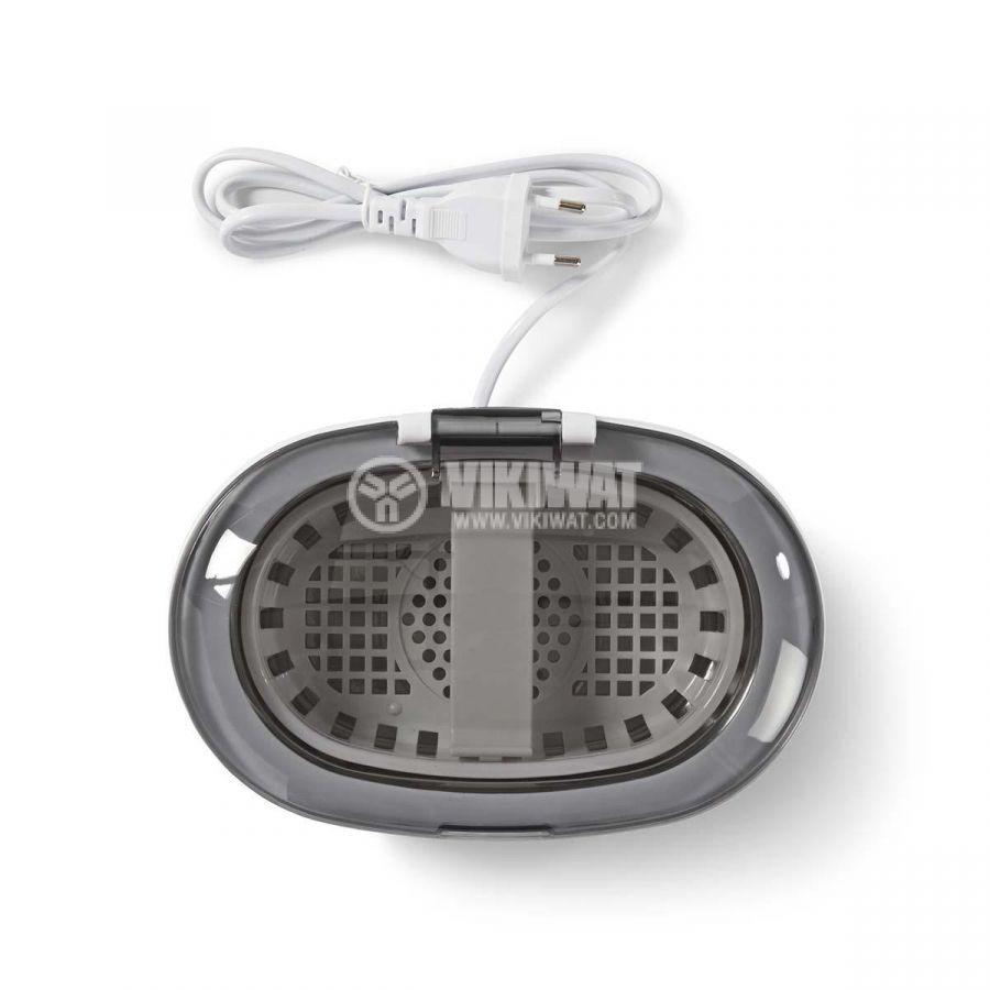Ултразвукова вана за почистване на бижута, 50W, бяла, NEDIS JECL110WT - 7