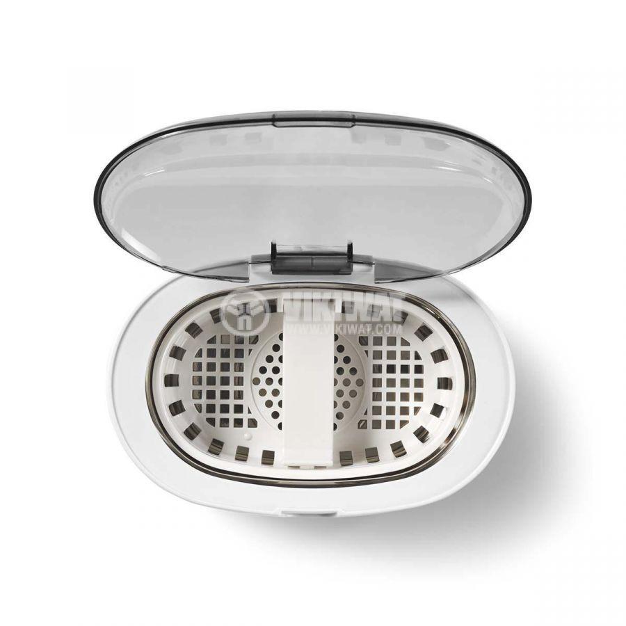 Ултразвукова вана за почистване на бижута, 50W, бяла, NEDIS JECL110WT - 4