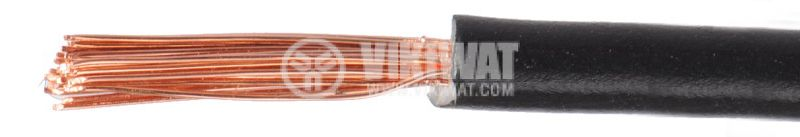 Проводник кабел ПВ-А2 1x1mm2 черен