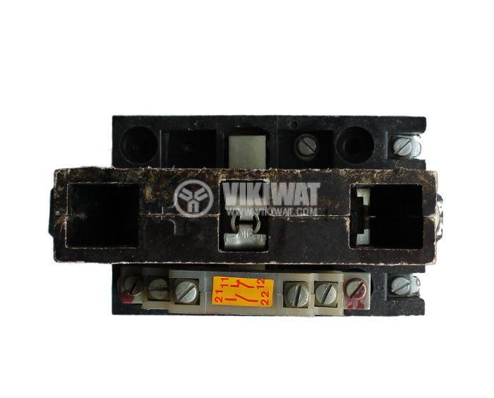 Contactor, one-pоle, coil 40VDC, SPST - NO, 100A, КПЕ-5, NO+NC - 3