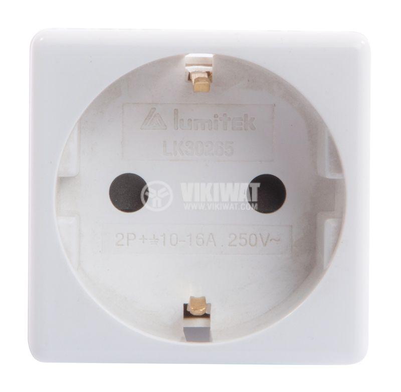 Модулен електрически контакт LK30265, шуко, 16A, 250VAC - 1