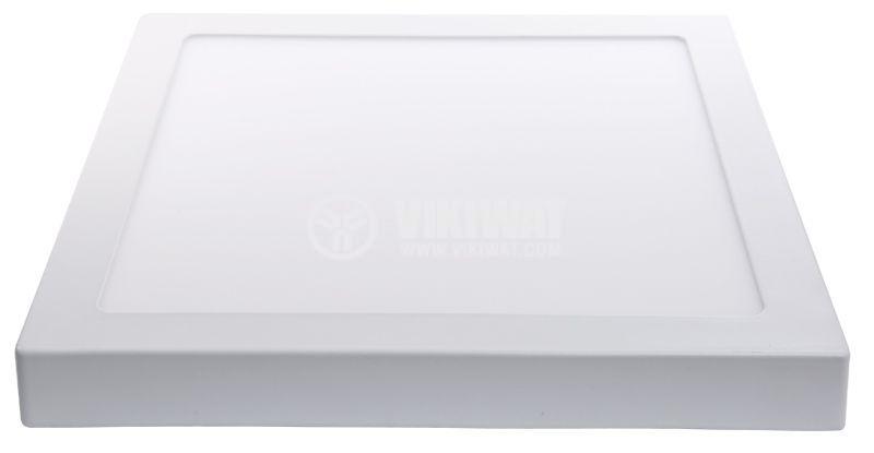 LED панел за обемен монтаж 18W, 220VAC, 3000K, топлобял, 220x220mm, BL06-1800 - 3