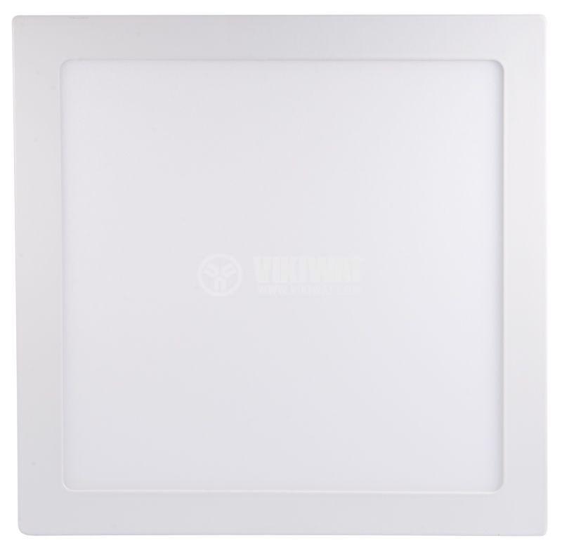 LED панел за обемен монтаж 18W, 220VAC, 3000K, топлобял, 220x220mm, BL06-1800 - 5