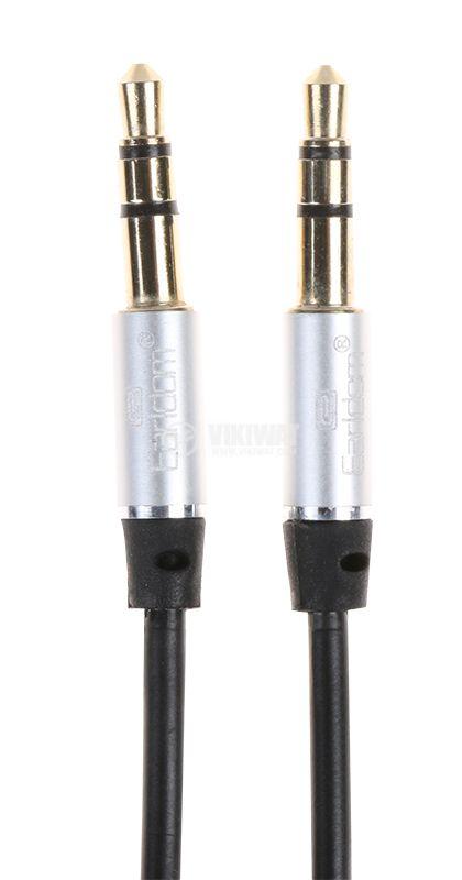 CABLE, AUX 3.5 M-AUX 3.5 / M, 1m black - 1