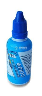 Флюс за запояване на всякакви железни сплави, хром, никел и др. Rapid FF, 40 ml