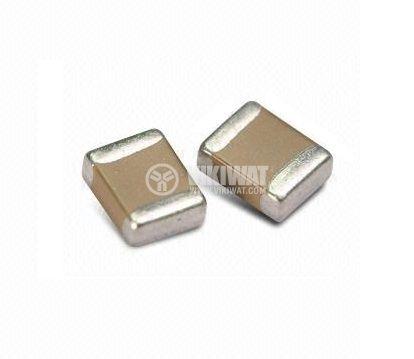 Capacitor SMD, C0805, 18pF, 50V, C0G - 1