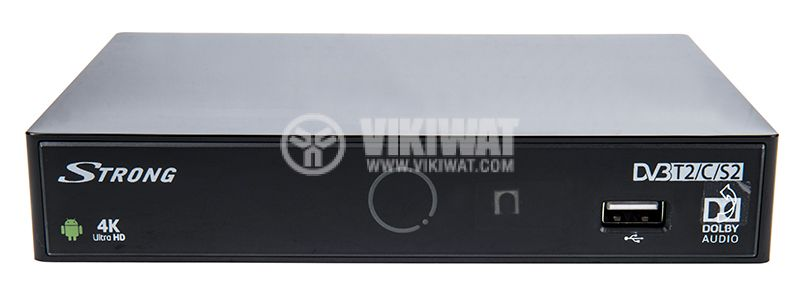 Receiver (Android 5.1) with triple tuner (DVB-S2/DVB-T2/C) - 1