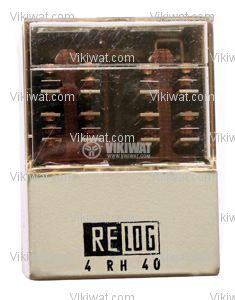 Електромагнитно специално реле бобина 220VAC  250VAC/10A 8PDT - 8NO+8NC 4 RH 40 - 1