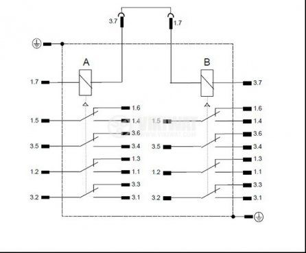 12 Volt Led Wiring Diagram With Relay together with 12v Relay Pcb further 6 Pin Dpdt Rocker Switch Wiring Diagram together with Key Switch And Dpdt Switch likewise Furnace Fan Switch Wiring Diagram. on wiring a dpdt relay to switch