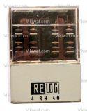 Електромагнитно специално реле бобина 220VAC  250VAC/10A 8PDT - 8NO+8NC 4 RH 40