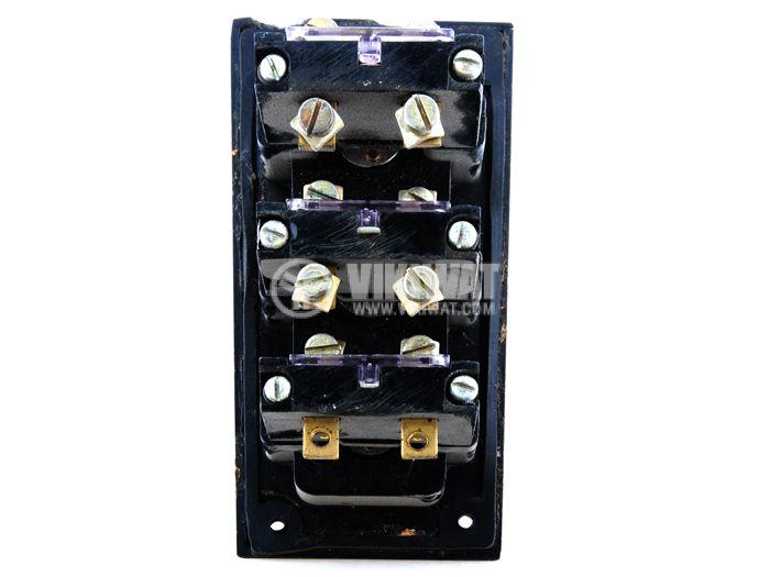 Schaltbau Push Button PKDT2-1, 380 VAC/6.3 A, 2NO +1 NC - 2
