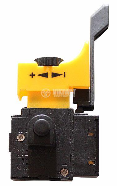 Електрически прекъсвач (ключ), регулатор на обороти и реверс за ръчни електроинструменти F2-6/1BEK 6A/250VAC - 1