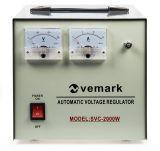 Стабилизатор на напрежение SVC-2000W, 2000VA, 220VAC, серво мотор