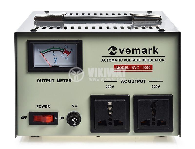 Стабилизатор напрежение SVC-1000W 1000VA 220V серво мотор