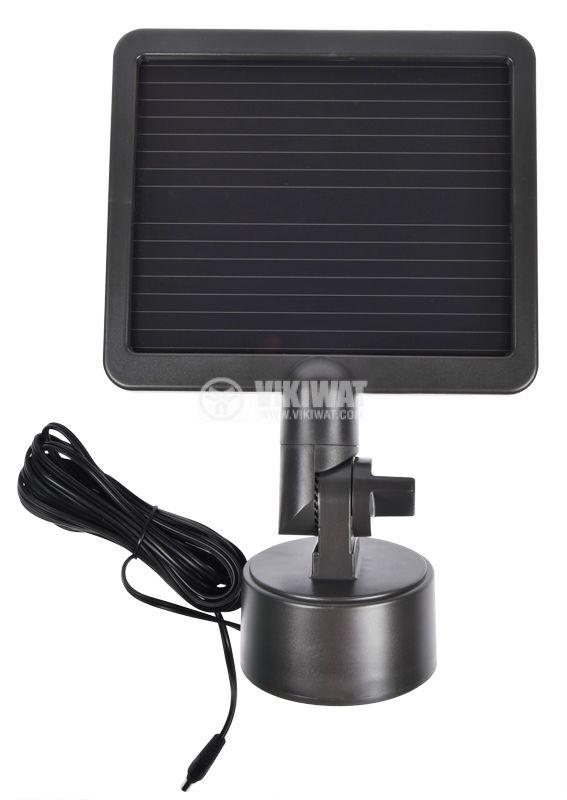 LED прожектор със соларно захранване и сензор за движение, Brennenstuhl, студенобял - 4