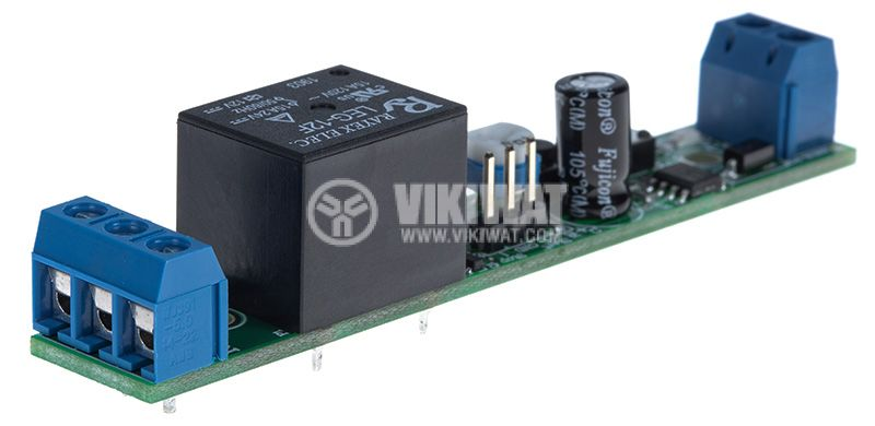 Старт/Стоп таймер 555, 12VDC, 0.5 до 490s, 7А/240VAC - 2