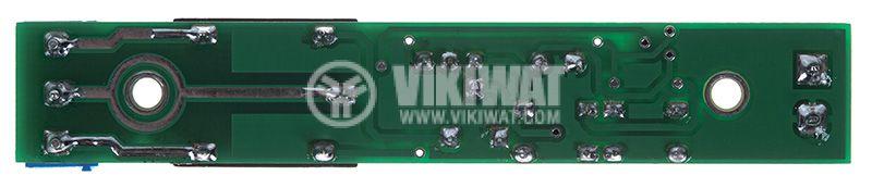 Старт/Стоп таймер 555, 12VDC, 0.5 до 490s, 7А/240VAC - 4