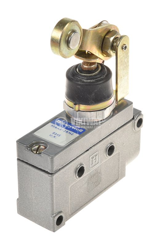 Limit Switch BZE7-2RN2, SPDT-NO+NC, 15A/480VAC, roller lever - 1