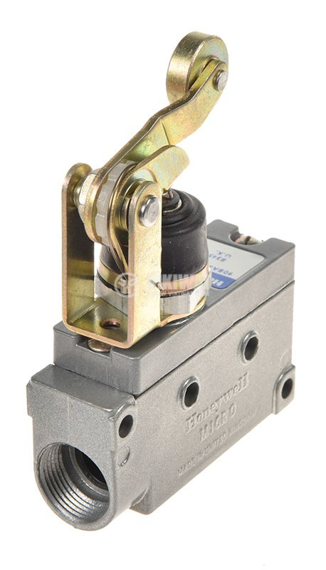 Limit Switch BZE7-2RN2, SPDT-NO+NC, 15A/480VAC, roller lever - 2