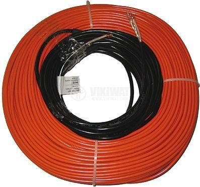 Нагревателен кабел за подово отопление 2200 W / 120 m, мокри