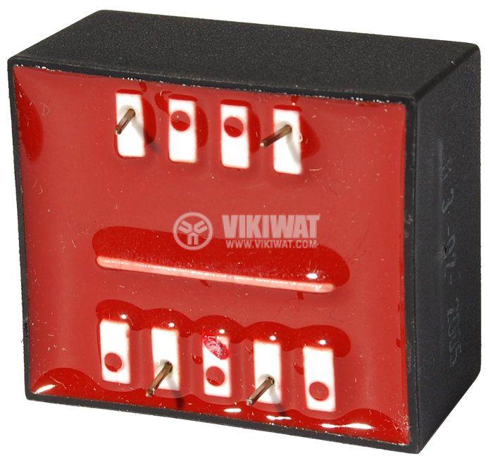 Tрансформатор за печатен монтаж 6 VAC, 1.3 VA - 2