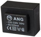 Tрансформатор за печатен монтаж 6 VAC, 1.3 VA