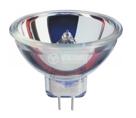 Халогенна лампа, 8 V, 50 W, GZ 6.35, за прожектори