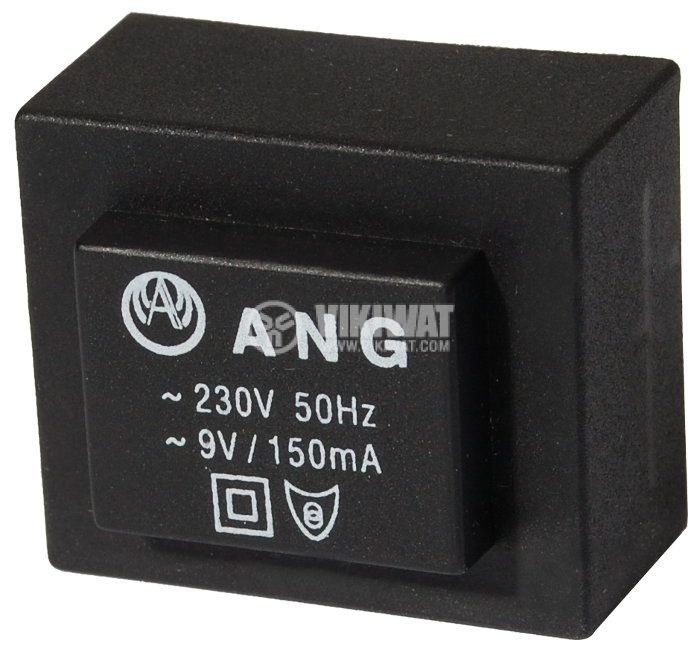 Tрансформатор за печатен монтаж 9 VAC, 1.3 VA - 1