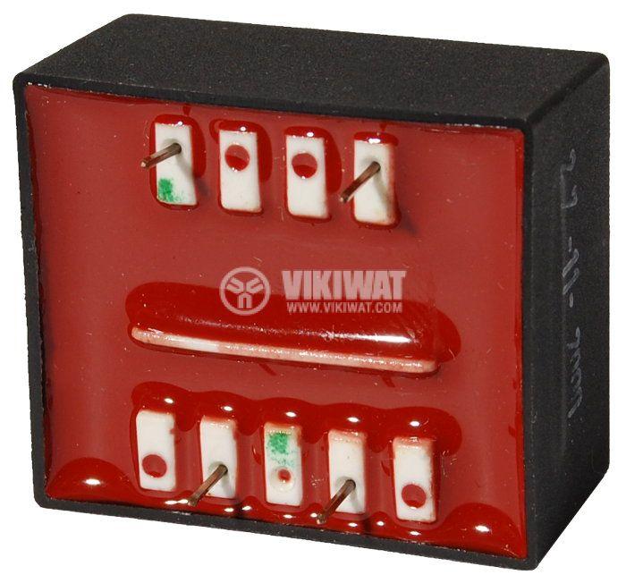 Tрансформатор за печатен монтаж 9 VAC, 1.3 VA - 2