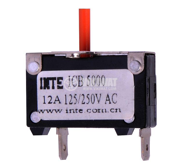Токова защита, еднополюсна, ICB5000, 12 A , 250 VAC - 1