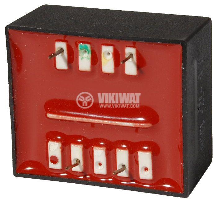 Tрансформатор за печатен монтаж 13 VAC, 1.3 VA - 2