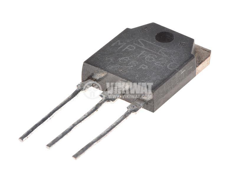 Транзистор MP1620, PNP, 160V, 10A, 150W, 50MHz - 2
