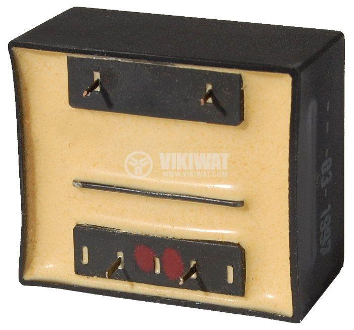 Tрансформатор за печатен монтаж 18 VAC, 1.3 VA - 2