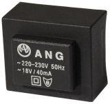 Tрансформатор за печатен монтаж 18 VAC, 1.3 VA